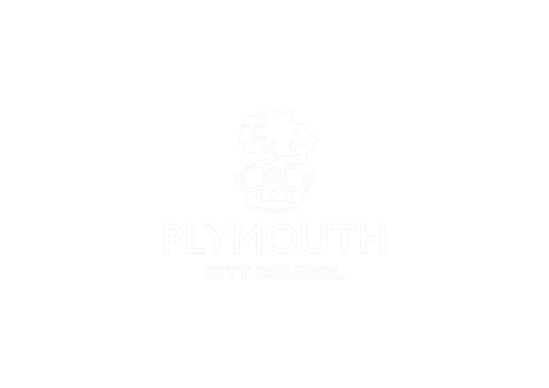Plymouth City Council logo with transparent background