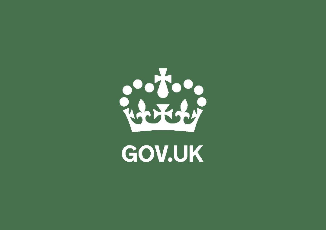 GOV.UK logo on transparent background
