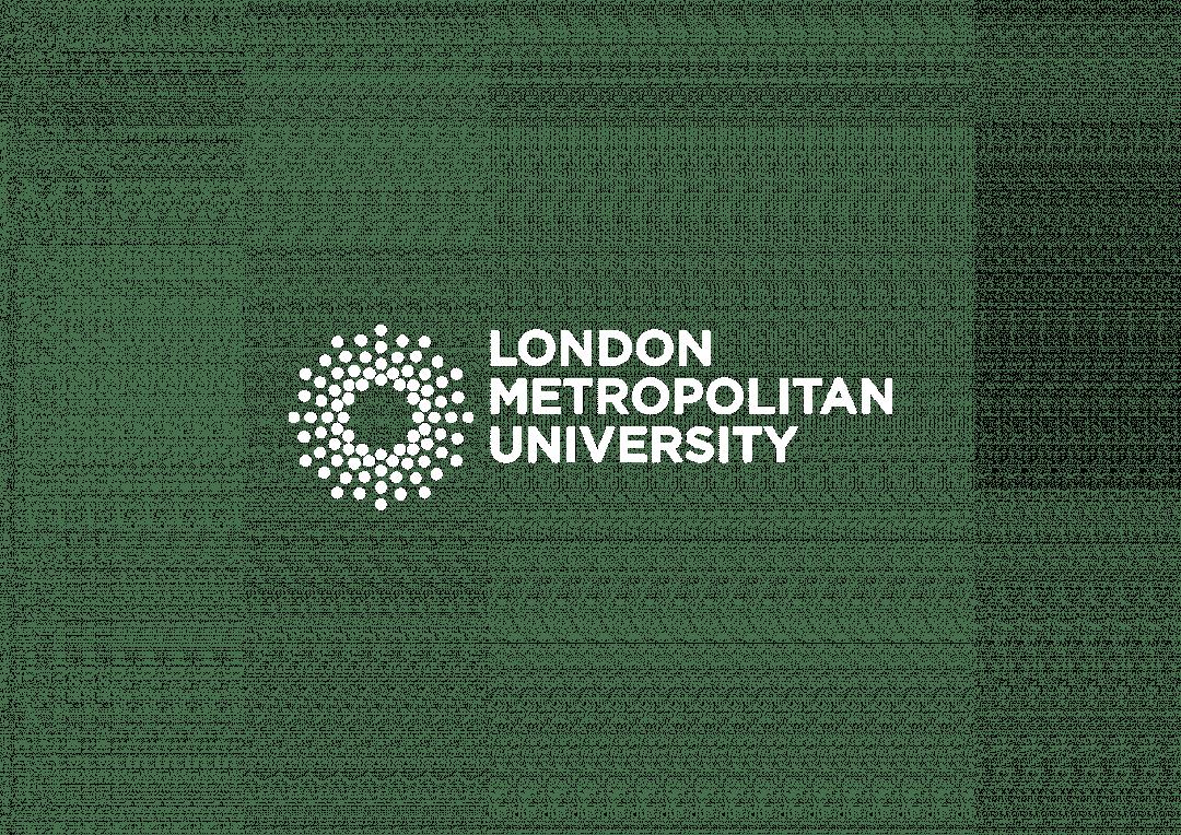 London Metropolitan University logo on transparent background